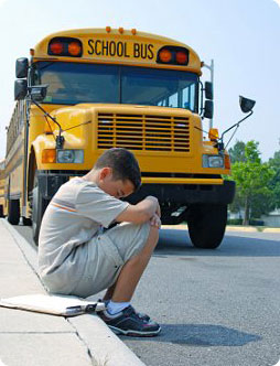 Does your child dread going to school in the morning?